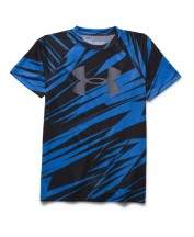 boys_under_armour_big_logo_print_short_sleeve_t-shirt_youth_blue_black_grey_1